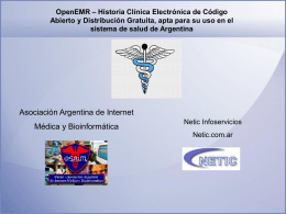 Presentación PowerPoint Congreso Informática y Salud 2010