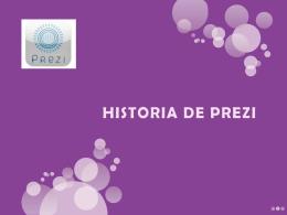 Historia de prezi - Moodle ITAE