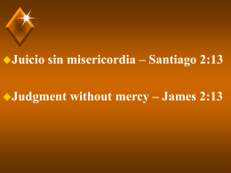 Juicio sin misericordia
