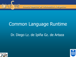 2. Common Language Runtime