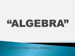 """ALGEBRA"""