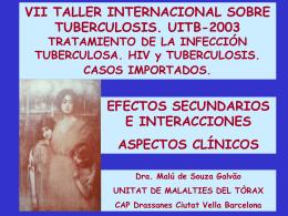 Dra de Souza tallertbc2003