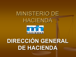 Dirección General de Hacienda