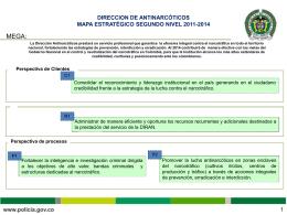 DIRECCIÓN DE ANTINARCÓTICOS - Policía Nacional de Colombia