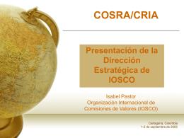 Direccion estrategica de Organización Internacional de Comisiones