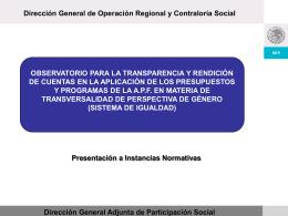 Diapositiva 1 - Comisión Nacional para el Desarrollo de los Pueblos