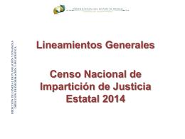 lineamientos generales - Poder Judicial del Estado de México
