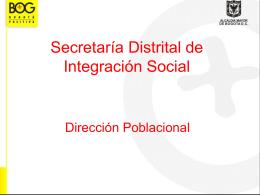Dirección Poblacional