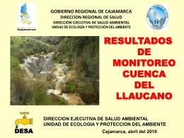Presentación Gobierno Regional de Cajamarca
