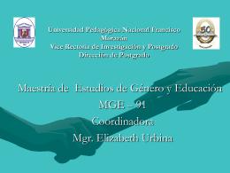 Universidad Pedagógica Nacional Francisco Morazán Vice Rectoría