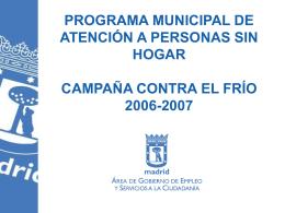 CAMPAÑA FRIO DESAYUNO
