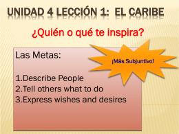 Quién o Qué te Inspira?