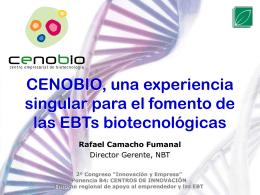 CENOBIO, Centro Empresarial de Biotecnología