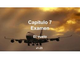 Capítulo 7 Examen