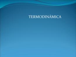 Termodinámica en la Química
