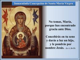 Inmaculada Concepción - Alianza en Jesús por María