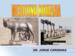 9.-novena clase -medicina romana