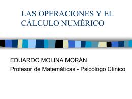 las operaciones y el cálculo numérico