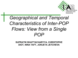 Geographical and Temporal Characteristics of Inter