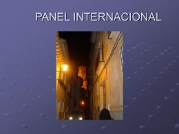 PANEL INTERNACIONAL