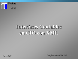 T32 Tutorial Interfases Contables XML