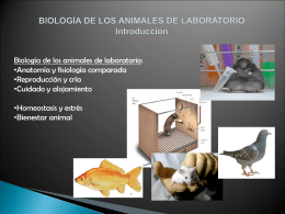 Biología de los animales de laboratorio