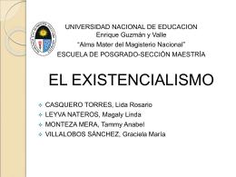 EXISTENCIALISMO Grupo 4 (1429504)