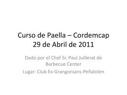 powerpoint de curso de paella - 8.6Mb