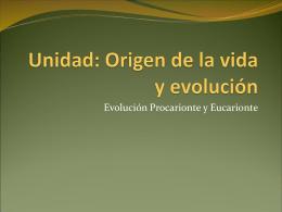 ppt 3 Evolucion Procarionte y Eucarionte