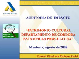 Estampilla Procultura - Conclusiones