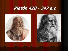 Platón - 6º año 2012