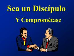 Sea un discipulo - Ministerio Personal y Grupos Pequeños