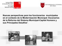 Nuevas perspectivas para los funcionarios municipales