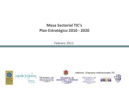 Plan Estratégico Presentación