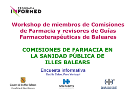 mesas workshop - El Comprimido