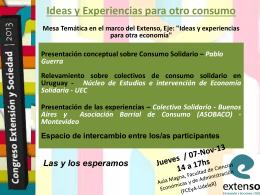 Diapositiva 1 - Asociación Retos al Sur