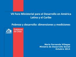 La Medición de Pobreza en Chile
