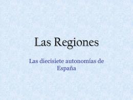 Las Regiones