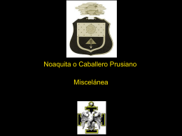 21° Grado – Patriarca Noaquita o Caballero Prusiano