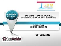 Intermediarios Financieros - 10 foro uniones de crédito