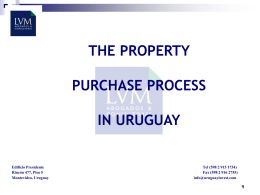 The Purchase Process