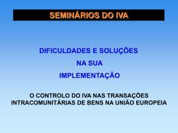 SEMINÁRIO A BUSCA DA EFICIÊNCIA ECONÔMICO