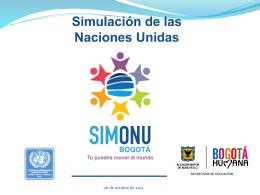 ¿Que es una simulación de Modelo de las Naciones Unidas?