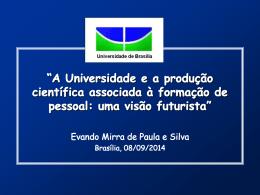 Veja a apresentação utilizada por Evando Mirra durante a conferência