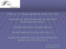Presentación PowerPoint sobre el estado de situación del Sistema