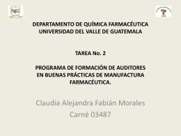 Tarea No. 2lda. Claudia-Fabian