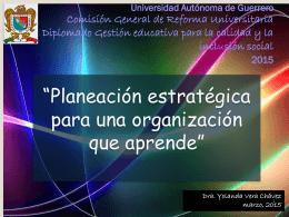 Universidad Autónoma de Tlaxcala Centro de Investigaciones