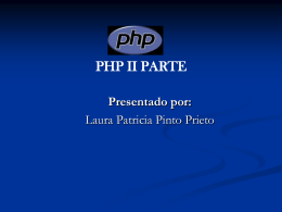 php base de datos