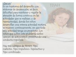 TDAH - Inicio