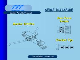SERIE BLITZFIRE Monitor Oscilante SERIE